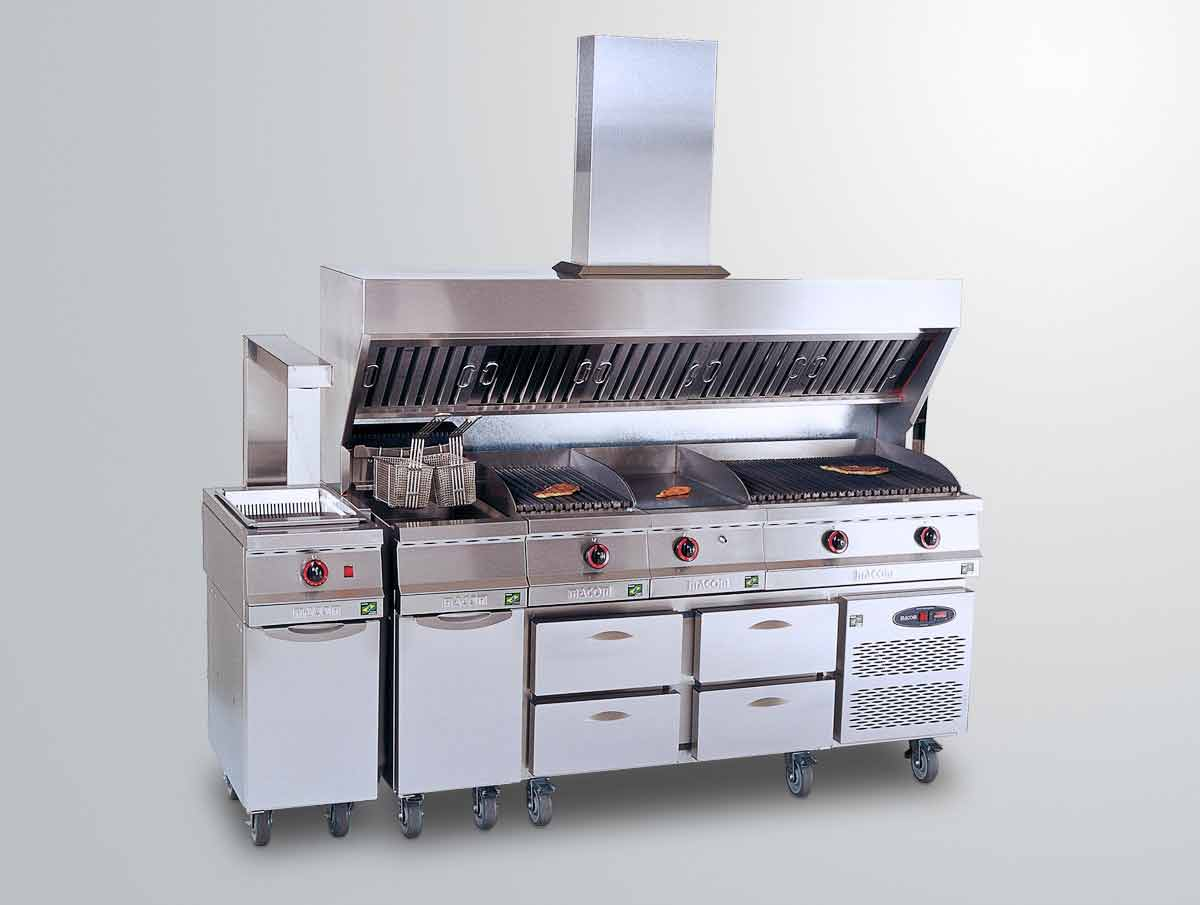 Char Broiler Cozinha Industrial Local Service