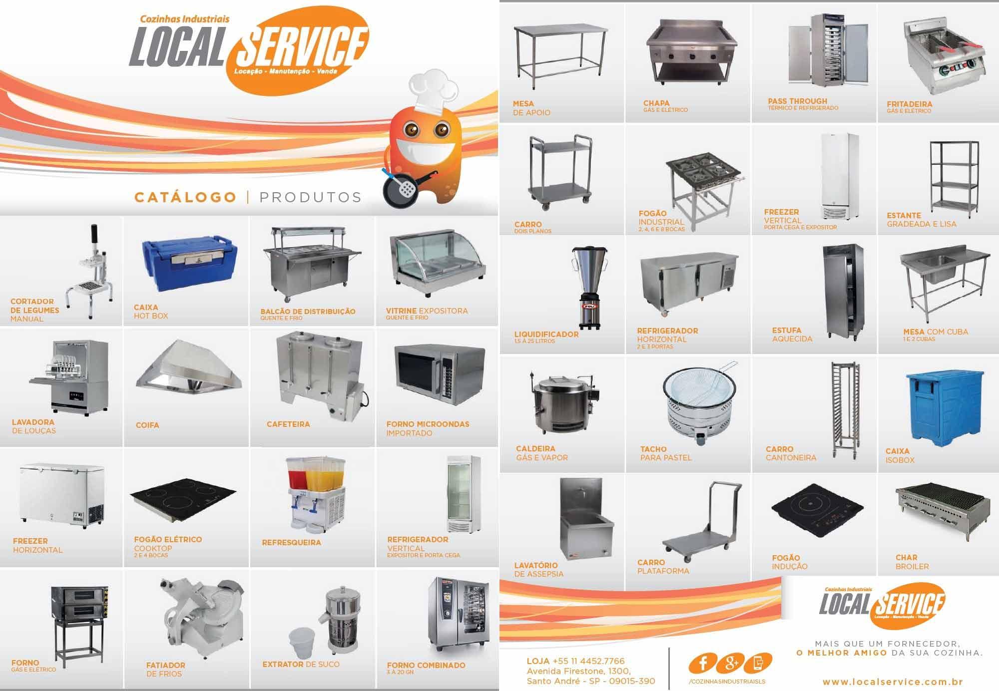 Comprar Cozinha Industrial Local Service