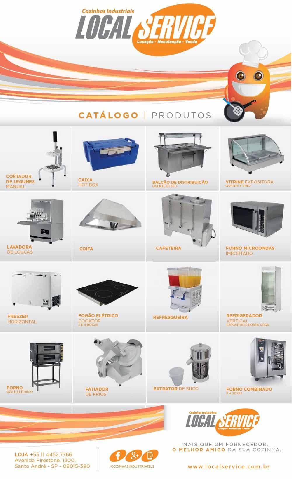 Loca O De Equipamentos De Cozinha Industrial Local Service
